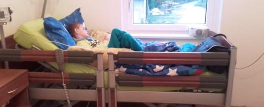 Schnelle Hilfe – Matthias: Pflegebett