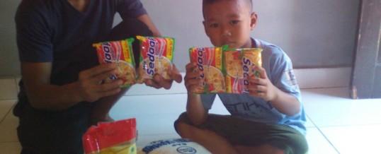 Futura Indonesia – Lebensmittel für 5 Familien für 2016